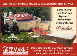 West Baden Springs Mattress Collection From Bowles