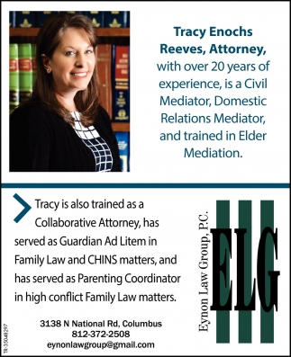 Tracy Enochs Reeves, Attorney With Over 20 Years Of Experience