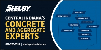Central Indiana's Concrete And Aggregate Experts