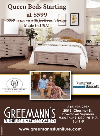 Queen Beds Starting At $599