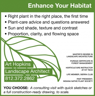 Enhance Your Habitat