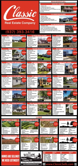 Homes are selling! We need listings!