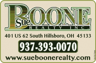 The professional staff of Sue Boone Realty, Inc. stand ready to assist you