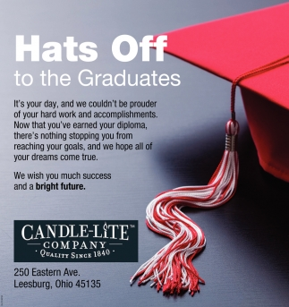 Hats Off to the Graduates