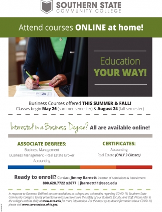 Attend Courses Online at Home
