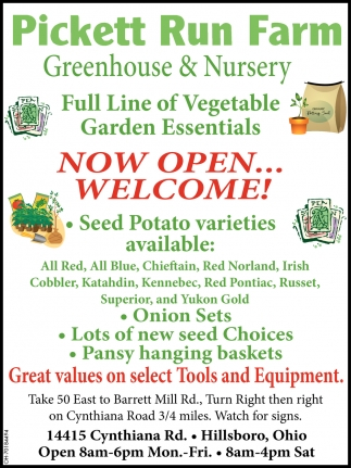 Full Line of Vegetable Garden Essentials