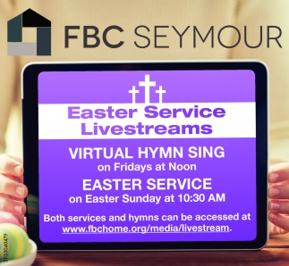 Easter Service Livestreams