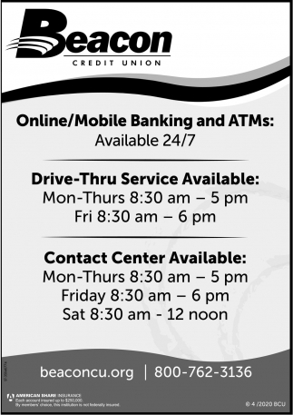 Online/Mobile Banking And ATMs