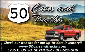 Check Our Website For Our Up To Date Inventory!
