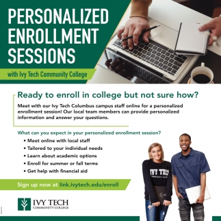 Personalized Enrollment Sessions