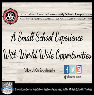 A Small School Experience With World Wide Opportunities
