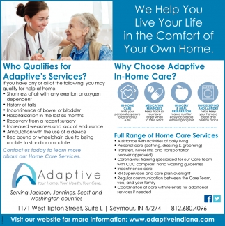 Full Range Of Home Care Services