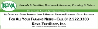 Ag Chemicals - Spray Systems - Fertilizer - Seed