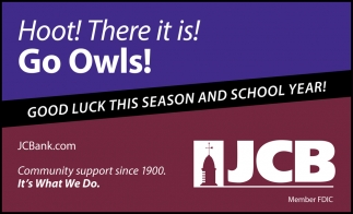 Hoot! There It Is! Go Owls!