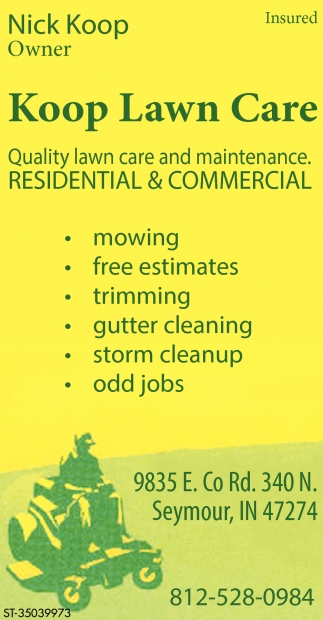 Quality Lawn Care And Maintenance.