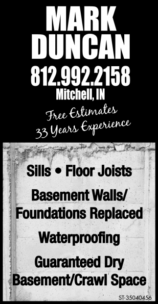 Free Estimates, 33 Years Experience