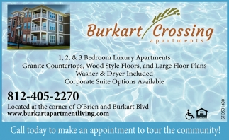Call Today To Make An Appointment To Tour The Community!