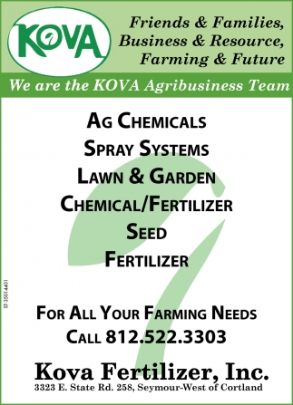 We Are The KOVA Agribusiness Team