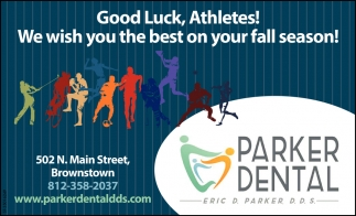 Good Luck, Athletes!