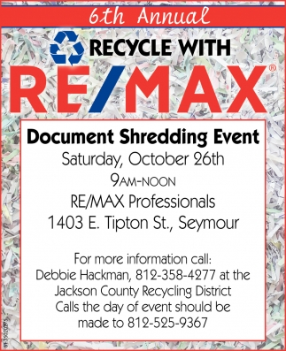 Recycle With Re/Max