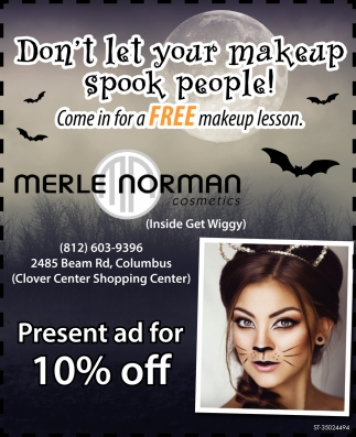 Don't Let Your Makeup Spook People!