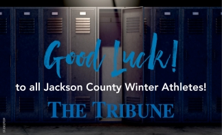 Good Luck To All Jackson County Winter Athletes!