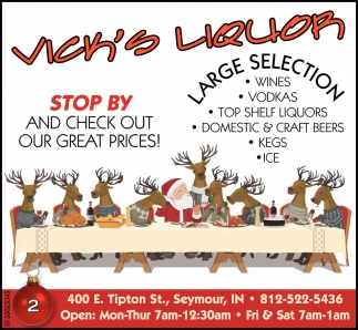 Stop By And Check Our Great Prices!