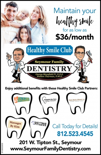 Maintain Your Healthy Smile