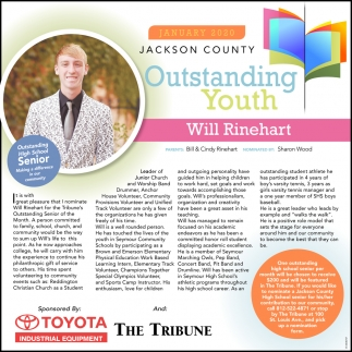 Outstanding Youth: Will Rinehart