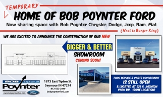 Temporary Home Of Bob Poynter Ford