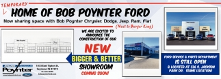 New Bigger & Better Showroom Coming Soon!