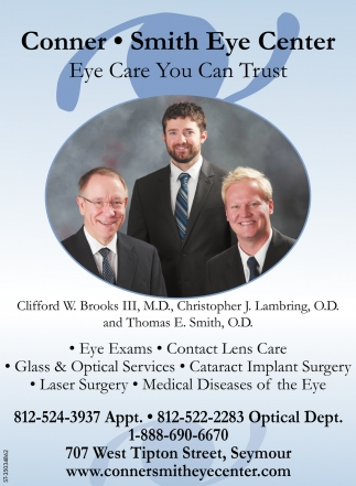 Eye Care You Can Trust