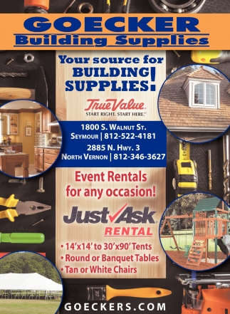 Your Source For Buildings Supplies!