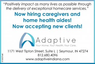 Now Hiring Caregivers And Home Health Aides!