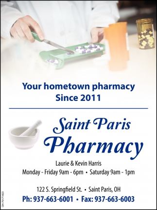 Your hometown pharmacy since 2011