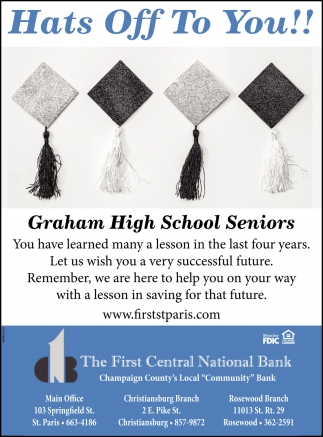 Graham High School Seniors