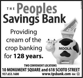 Providing Cream of the Crop Banking