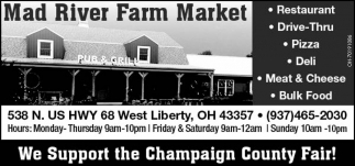 We Support the Champaign County Fair