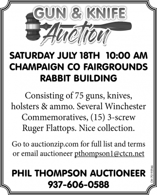Gun & Knife Auction
