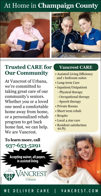 Trusted Care for Our Community