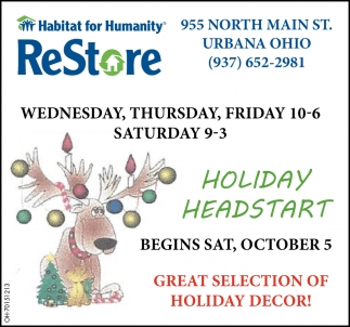 Holiday Headstart - Begin October 5