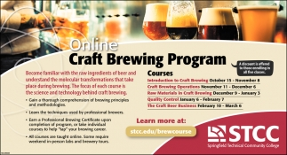 Online Craft Brewing Program
