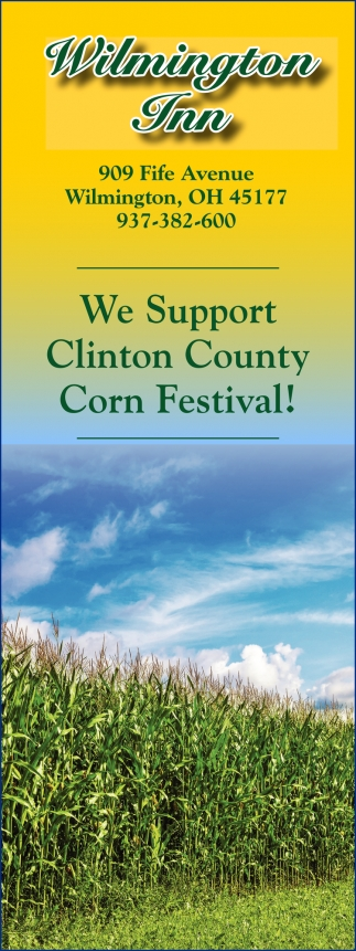 We Support Clinton County Corn Festival!