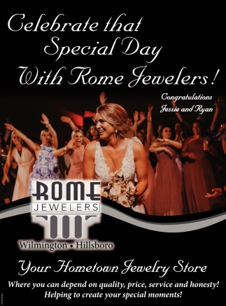 Celebrate that Special Day With Rome Jewelers!