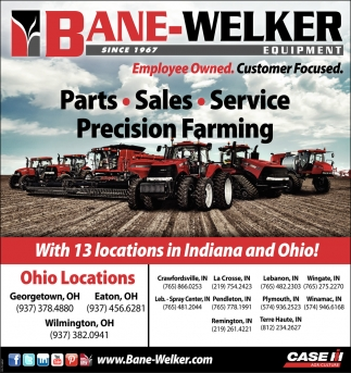 Parts ~ Sales ~ Service ~ Precision Farming
