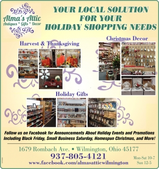 Your Local Solution For Your Holiday Shopping Needs