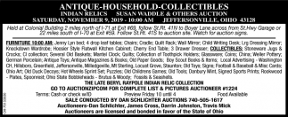 Auction - November 9