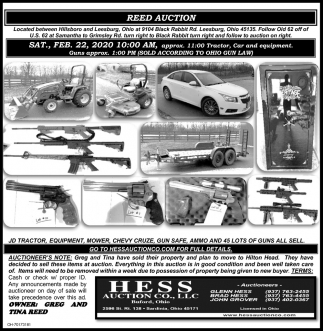 Reed Auction - Feb 22