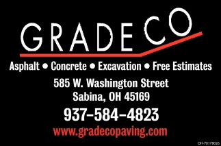 For 20 years we've been working on a wide variety of paving projects for clients in Sabina, OH and beyond