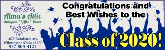 Congratulations a Best Wishes